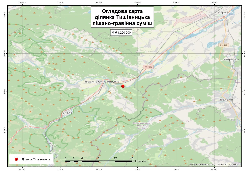 Компанія з Дніпропетровщини програла аукціон на Тишівницьку ділянку